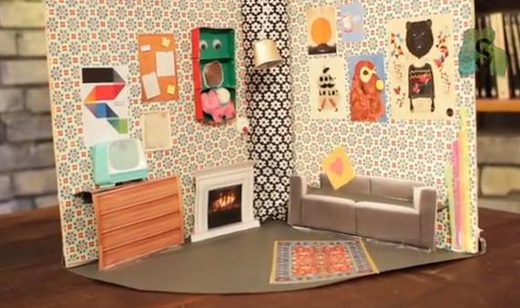 Puppenhaus basteln DIY Video