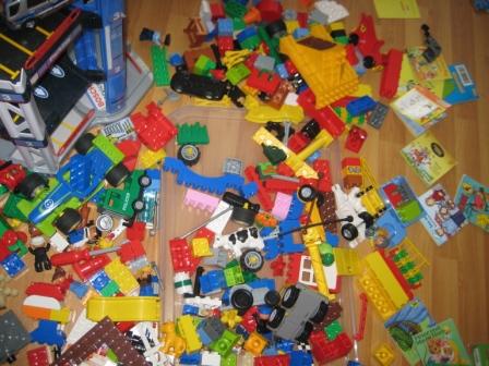 Lego-Duplo_Kücken und Nest